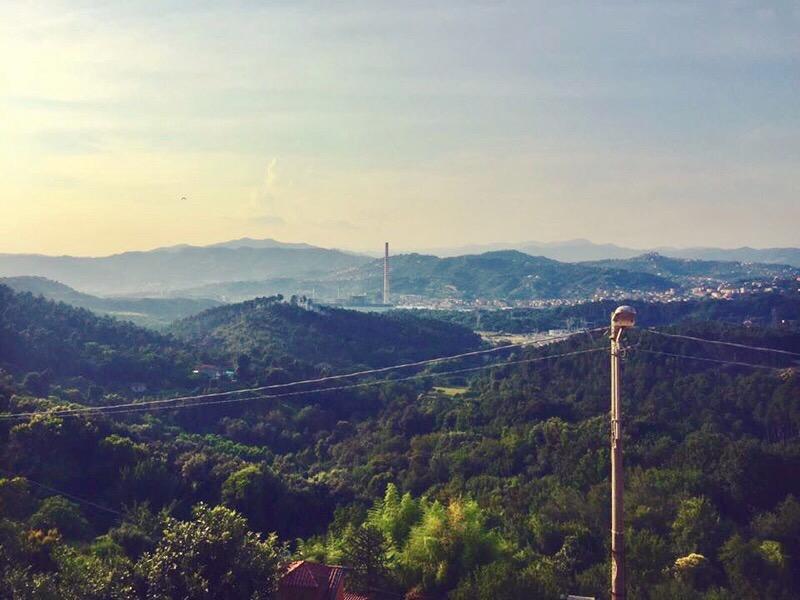 La Spezia, hilltop view