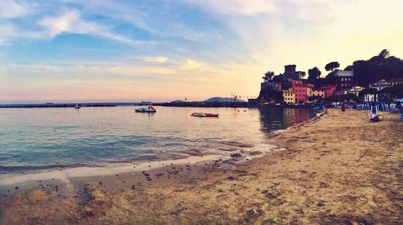 La Spezia, oceanfront