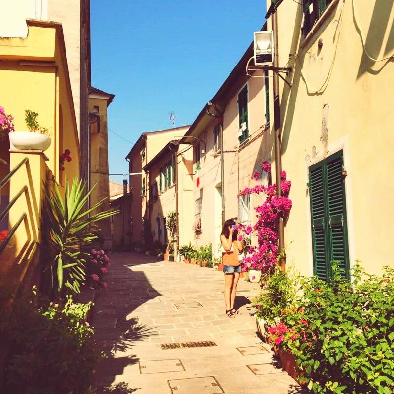 La Spezia, hilltop village